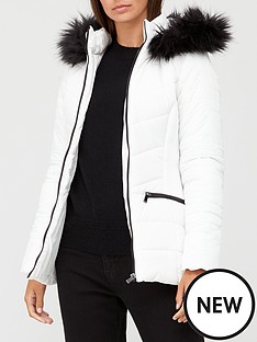 v-by-very-short-faux-fur-trim-padded-jacket-white