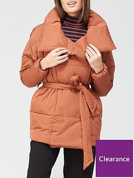 v-by-very-short-wrap-padded-jacket-spice