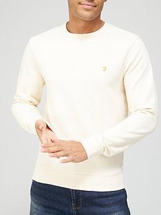 farah-crew-neck-sweatshirt-creamnbsp