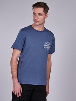 barbour-international-visor-t-shirt-blue