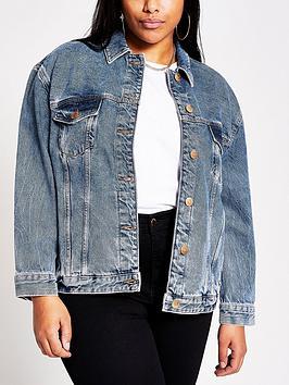 RI Plus Ri Plus Essential Denim Jacket - Dark Blue Picture
