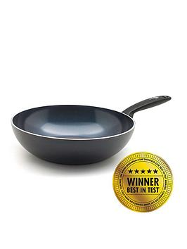 Greenpan  Torino Healthy Ceramic Non-Stick 28 Cm Wok