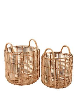 set-of-2-straight-weave-rattan-baskets