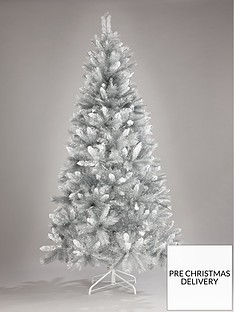 8ft-silver-grey-sparkle-christmas-tree-with-frosted-tips