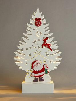 santa-and-tree-light-up-wooden-christmas-decoration