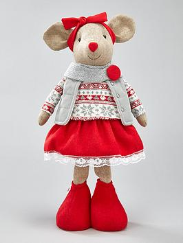 standing-mouse-christmasnbspdecoration-girl