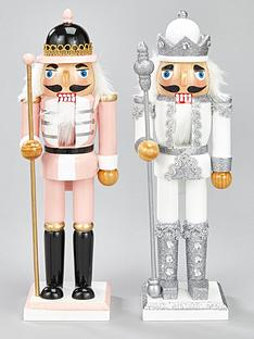 set-of-2-nutcracker-soldiers-ndash-pink-amp-silver