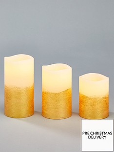 set-of-3-gold-led-candles