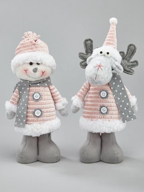 plush-reindeer-and-snowman-room-decoration-set