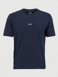 boss-tchup-centre-logo-t-shirt-dark-blue