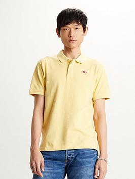 levis-original-polo-shirt-yellow