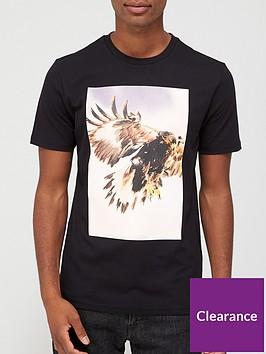 boss-tomio-4-logo-eagle-print-t-shirt-black