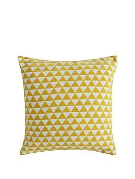 Gallery Gallery Jacquard Triangles Cushion Picture