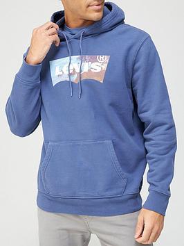 levis-photo-print-detail-hoodie-blue