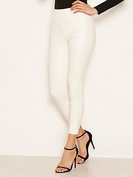 ax-paris-ax-paris-ecru-highwaised-faux-leather-leggings