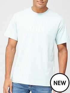 levis-serif-small-chest-logo-t-shirt-grey