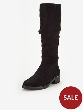 v-by-very-tasmina-flat-slouch-knee-boot-black