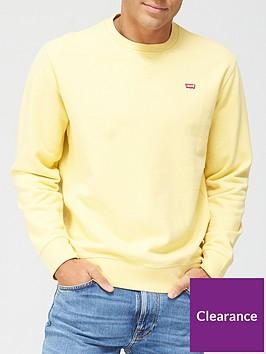 levis-housemark-small-graphic-sweatshirt-yellow