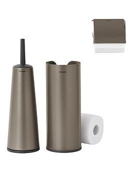 brabantia-3-piece-toilet-accessory-set--nbspplatinum