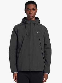 fred-perry-panelled-zip-through-jacket-black