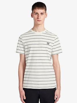 fred-perry-fine-stripe-t-shirt-white