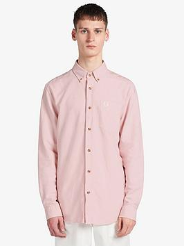 fred-perry-overdyed-shirt-pink