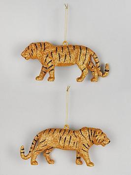 gisela-graham-set-of-2-wild-animal-tree-decorations