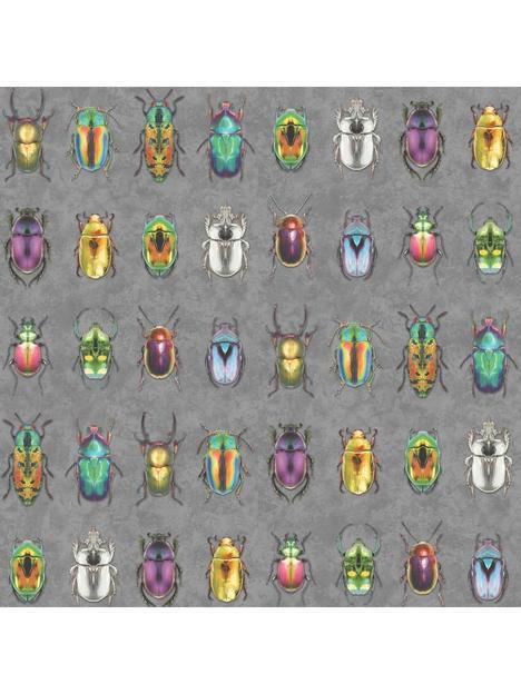 woodchip-magnolia-beetle-jewels-multi-wallpaper