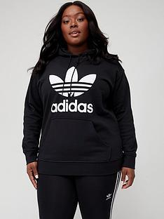 adidas-originals-plusnbsptrefoil-hoodie-black