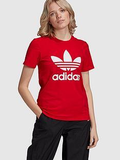 adidas-originals-trefoil-tee-red