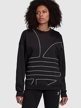 adidas-originals-large-logo-sweat-black