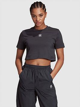 adidas-originals-trefoil-essentials-cropped-t-shirt-black