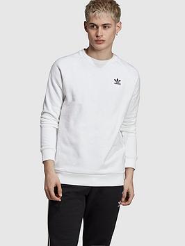 adidas-originals-essential-crew-white