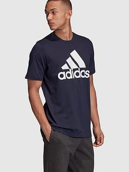 adidas-badge-of-sportnbspt-shirt-navynbsp