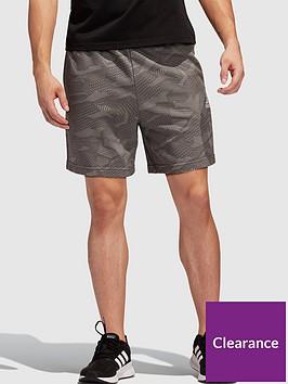 adidas-essentialsnbspallover-printnbspshorts-grey