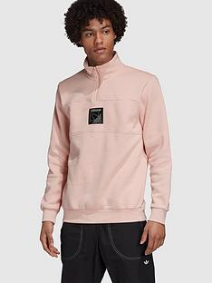 adidas-originals-spirit-icon-14-zip-top-pinknbsp