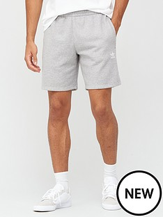 adidas-originals-essential-short-medium-grey-heathernbsp