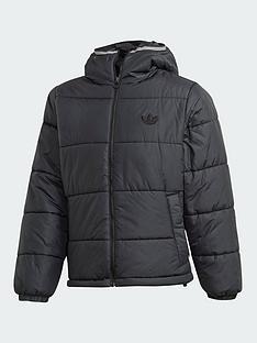 adidas-padded-hoodednbspcoat-black