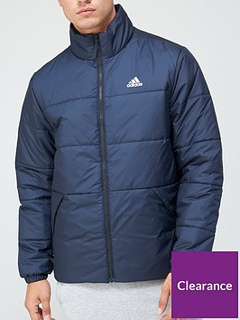 adidas-3-stripe-insulated-jacket-navynbsp