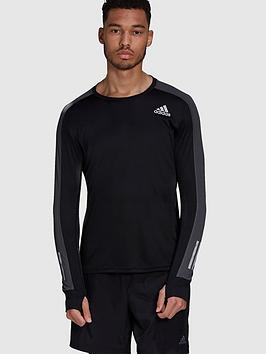 adidas-own-the-run-long-sleeve-t-shirt-blacknbsp