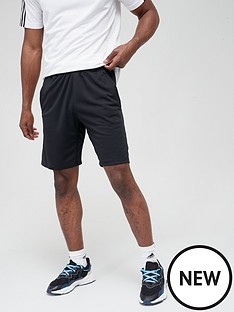 adidas-3-stripe-shorts-black