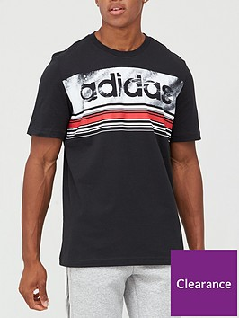 adidas-linear-logo-t-shirt-black