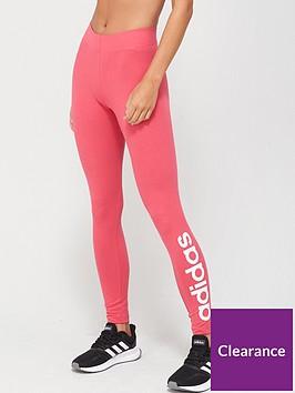 adidas-essentials-linear-tight-pink