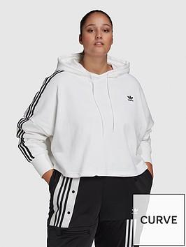 adidas-originals-plus-cropped-hoodie-white