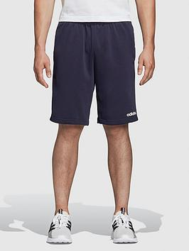 adidas-essential-3-stripe-shorts-navy