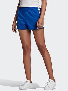 adidas-originals-3-stripe-shorts-blue