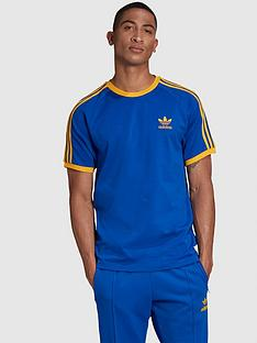 adidas-originals-3-stripe-t-shirt-bluenbsp