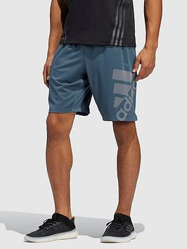 adidas-4krftnbspgraphic-badge-of-sportnbspshorts-bluenbsp