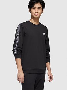 adidas-essential-tape-crew-sweatshirt-blacknbsp