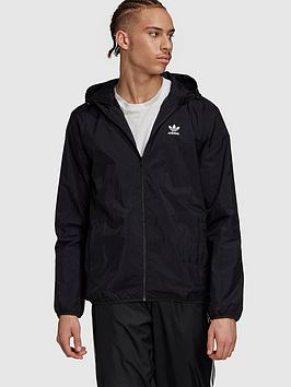 adidas-originals-essential-windbreaker-black